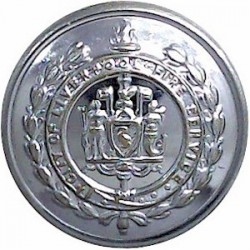 General Post Office (GPO Linked Script Letters) 23.5mm - 1902-1952 with King's Crown. Horn Civilian uniform button