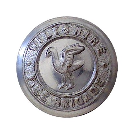 British Broadcasting Corporation - BBC - 1963-1971 23mm - Silver Colour Plastic Civilian uniform button