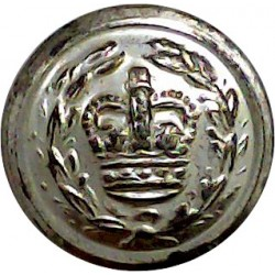 St John Ambulance Brigade 25mm  White Metal Civilian uniform button