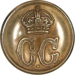 Coast Guard - Plain Rim 23.5mm with King's Crown. Brass Civilian uniform button