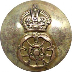 General Post Office (GPO Straight Letters) 20mm - Post-1952 with Queen Elizabeth's Crown. Plastic Civilian uniform button