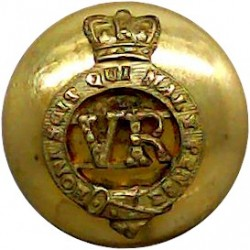 Royal Household General Palace Staff - GviR 23.5mm - 1936-1952 with King's Crown. Gilt Civilian uniform button