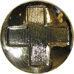 Harrods Department Store - Roped Rim 21.5mm  Gilt Civilian uniform button