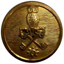 St. Dunstan's College: Catford: London 14mm Brass Civilian uniform button