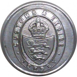 Blue Coat School Birmingham 21.5mm Anodised Civilian uniform button