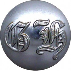 University Of Aberdeen 25.5mm Chrome-plated Civilian uniform button