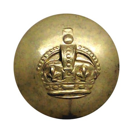 State Certified Midwives 19.5mm - Domed White Metal Civilian uniform button