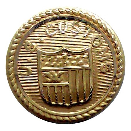 Brighton Hove And Sussex Grammar School 17mm  Gilt Civilian uniform button