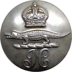 State Registered Nurse England & Wales 15.5mm - Black Horn Civilian uniform button