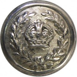 British Broadcasting Corporation - BBC - 1963-1971 23.5mm  Chrome-plated Civilian uniform button