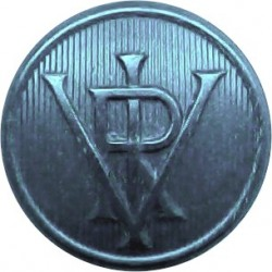 Surrey County Council (3 Shields) 17.5mm Brass Civilian uniform button