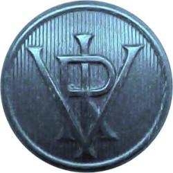 Surrey County Council (3 Shields) 17.5mm Brass Civilian uniform button