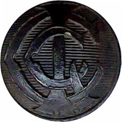 London County Council Ambulance Service (LCC) 21.5mm  Horn Civilian uniform button