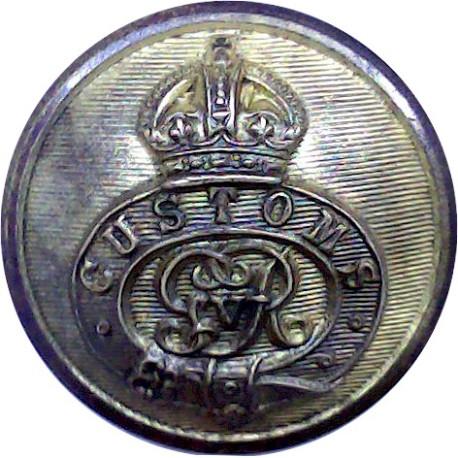 The North Hotels 25.5mm  Gilt Civilian uniform button