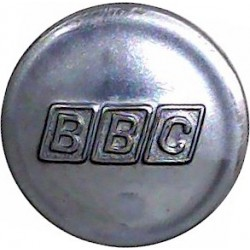 Sheffield Water Works 17.5mm  Chrome-plated Civilian uniform button