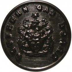 Surrey County Council (1 Shield) 17.5mm Chrome-plated Civilian uniform button