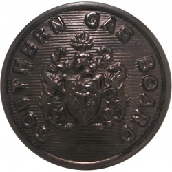 Surrey County Council (1 Shield) 23mm Chrome-plated Civilian uniform button
