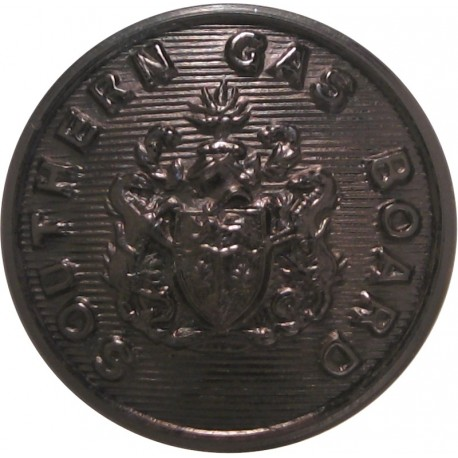 Surrey County Council (1 Shield) 23mm Chrome-plated Civilian uniform button
