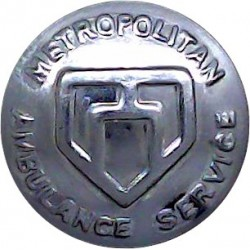 Barclays Bank - Spread Eagle 16.5mm Chrome-plated Civilian uniform button