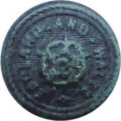 Ashoka Hotels (India) 19mm Brass Civilian uniform button