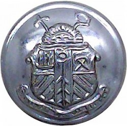 Southend-On-Sea Corporation Transport 24.5mm Chrome-plated Transport uniform button