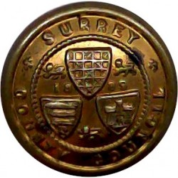 Glasgow Corporation Transport Department 22.5mm Brass Transport uniform button
