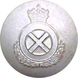 Scottish Ambulance Service 21.5mm  Silver-plated Civilian uniform button