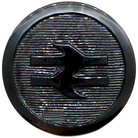 African Royal Mail - Shipping Button - Roped Rim 21.5mm Gilt Merchant Navy or Shipping uniform button