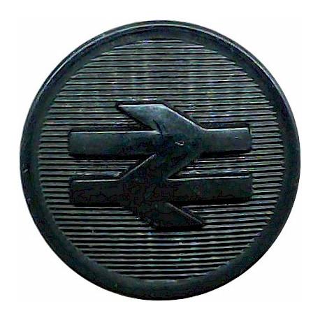 Shaw Savill & Albion - Shipping Button - Roped Rim 17mm - Unlined  Gilt Merchant Navy or Shipping uniform button