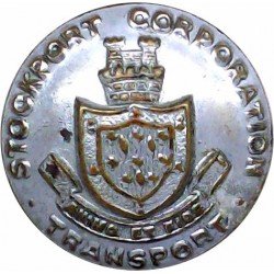 New Zealand & Federal Steam Navigation Co - Roped 16.5mm - Officers Gilt Merchant Navy or Shipping uniform button