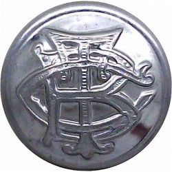 British Railways - Drivers Dustcoat Button 25.5mm - 1956-1966 Horn Transport uniform button