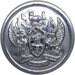 Royal Mail Steam Packet Company - Shipping Button 17mm - EviiR 1901-10 with King's Crown. White Metal Merchant Navy or Shipping
