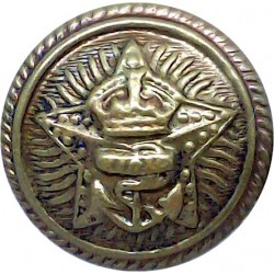 British Overseas Air Corporation 1940-1974 24mm - No Rim Brass Transport uniform button