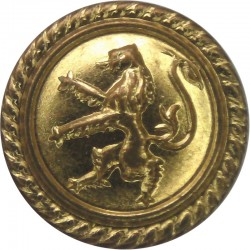 British Petroleum Tankers - Shipping Button - Roped 16.5mm - Post-1955  Gilt Merchant Navy or Shipping uniform button