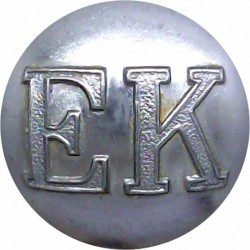 Royal Mail & Pacific Steam Navigation Company 23mm - 1910-1952 with King's Crown. Gilt Merchant Navy or Shipping uniform button