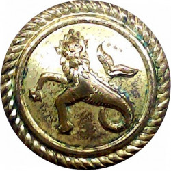 Trinity House Pilot - Roped Rim 21mm Gilt Merchant Navy or Shipping uniform button