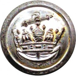 British Railways (Wheel) - Senior Staff 23mm - 1949-1963 Brass Transport uniform button