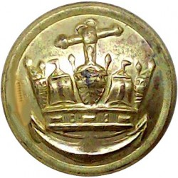British Railways (Wheel) - Senior Staff 26mm - 1949-1963 Brass Transport uniform button