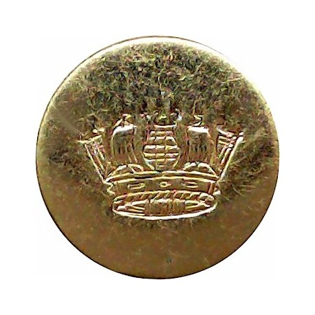 Bristol Tramways & Carriage Company Limited 25mm White Metal Transport uniform button