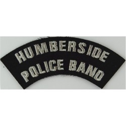 Police Sergeant's Chevrons - Plain Edges 33.5mm Wide Chrome-plated UK Police or Prison insignia
