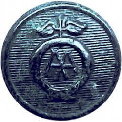 London & North Eastern Railway 16.5mm -1924-1936 Brass Transport uniform button