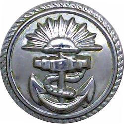 Southern Railway (No Rim) 22.5mm  Brass Transport uniform button