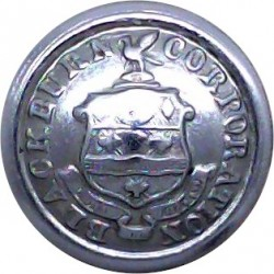 Blackburn Corporation Transport 16.5mm  Chrome-plated Transport uniform button
