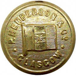 Middlesbrough Corporation Transport 25mm  Chrome-plated Transport uniform button