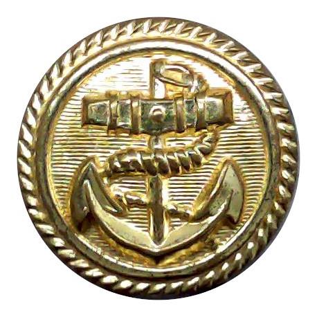 British Overseas Air Corporation 1940-1974 24mm - With Rim Brass Transport uniform button