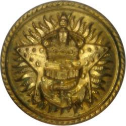 Great Western Railway - GWR 17mm - 1934-1947  Brass Transport uniform button