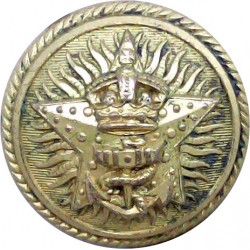 Great Western Railway 17mm - 1934-1947 Brass Transport uniform button