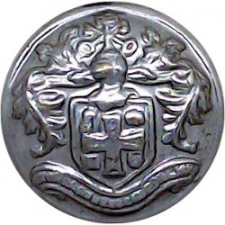 London Midland & Scottish Railway Company 17mm - Pre-1948 White Metal Transport uniform button