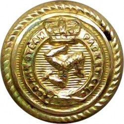 Birkenhead Corporation Transport 26mm White Metal Transport uniform button