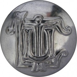 East Midland Motor Services 24mm Chrome-plated Transport uniform button
